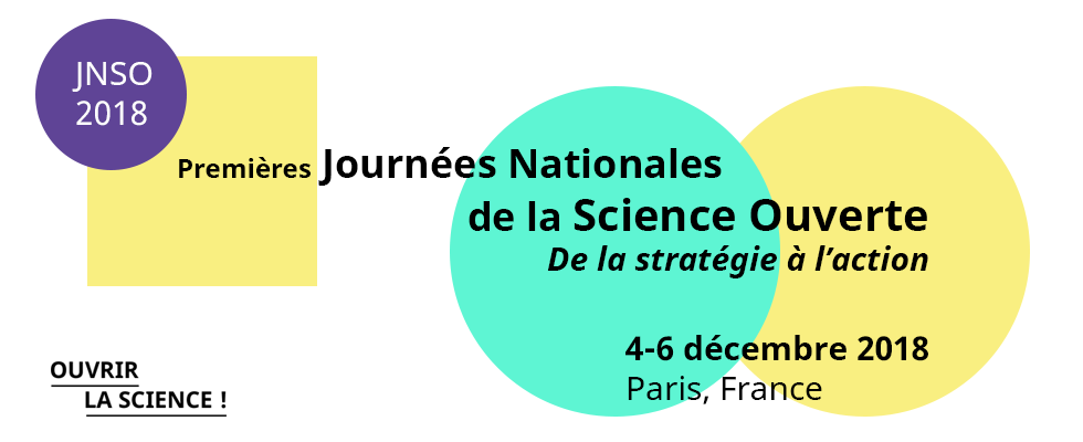 illustration National Open Science Days – JNSO 2018