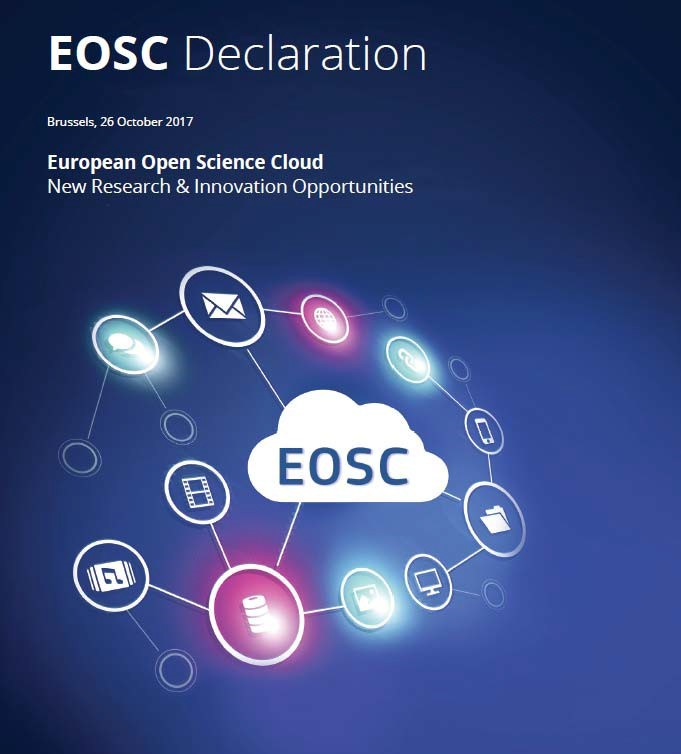 illustration EOSC Declaration | European Open Science Cloud, New Research & Innovation Opportunities