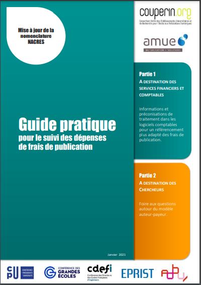 illustration Suivre les dépenses de frais de publication : le guide pratique de Couperin