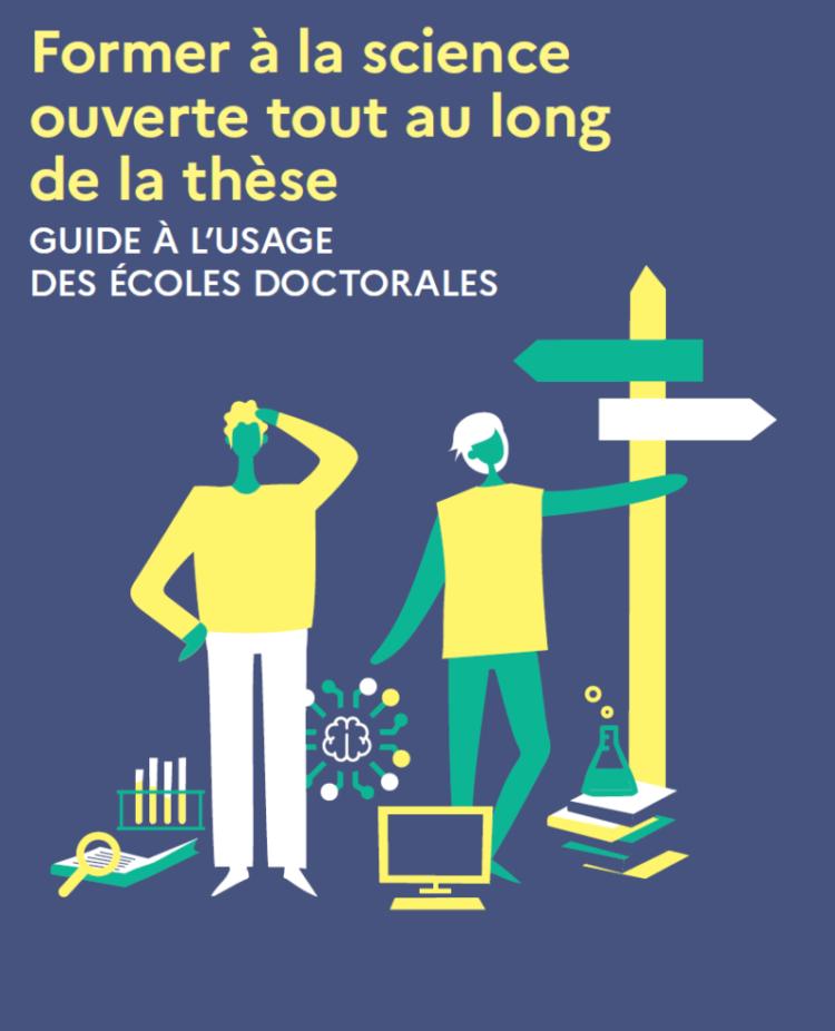 illustration Former à la science ouverte dans les écoles doctorales : un nouveau guide vous accompagne !